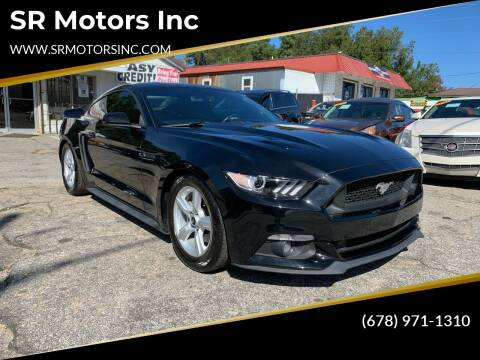2015 Ford Mustang for sale at SR Motors Inc in Gainesville GA