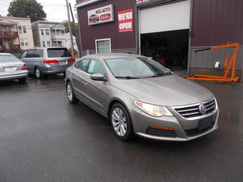 2012 Volkswagen CC for sale at Mig Auto Sales Inc in Albany NY