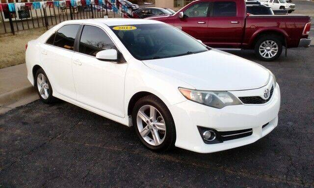 2014 Toyota Camry for sale at Jim Clark Auto World in Topeka KS