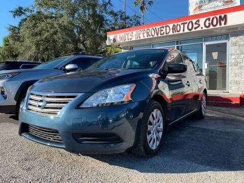 2013 Nissan Sentra for sale at Always Approved Autos in Tampa FL