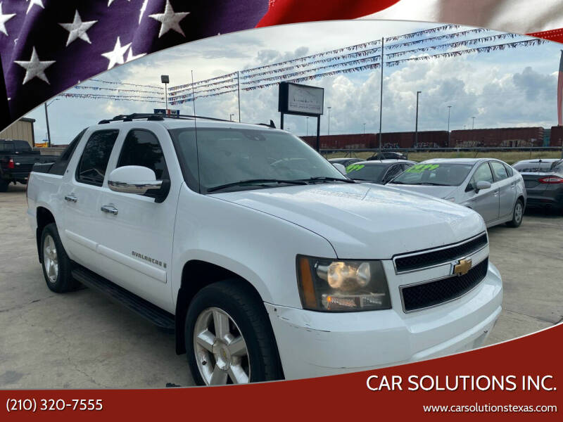 2007 Chevrolet Avalanche for sale at Car Solutions Inc. in San Antonio TX