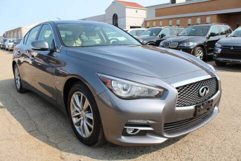 2017 Infiniti Q50 for sale at SHAFER AUTO GROUP in Columbus OH