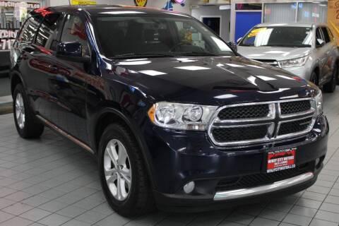 2013 Dodge Durango for sale at Windy City Motors in Chicago IL