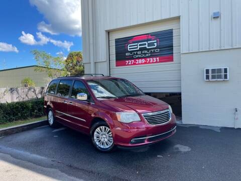 2012 Chrysler Town and Country for sale at Elite Auto Group LLC in Pinellas Park FL