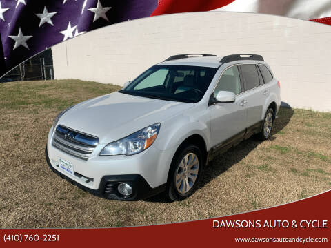 2013 Subaru Outback for sale at Dawsons Auto & Cycle in Glen Burnie MD