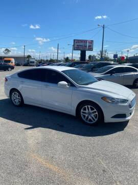 2016 Ford Fusion for sale at Jamrock Auto Sales of Panama City in Panama City FL