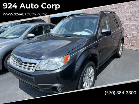 2011 Subaru Forester for sale at 924 Auto Corp in Sheppton PA