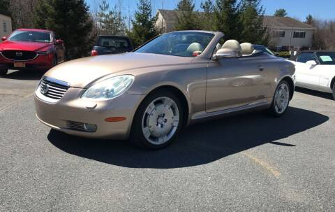 2002 Lexus SC 430 for sale at R & R Motors in Queensbury NY