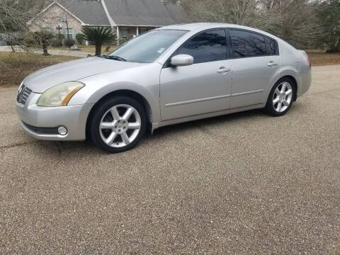 2006 Nissan Maxima for sale at J & J Auto Brokers in Slidell LA