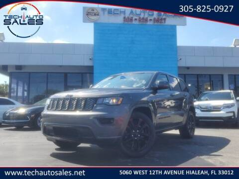 2019 Jeep Grand Cherokee for sale at Tech Auto Sales in Hialeah FL