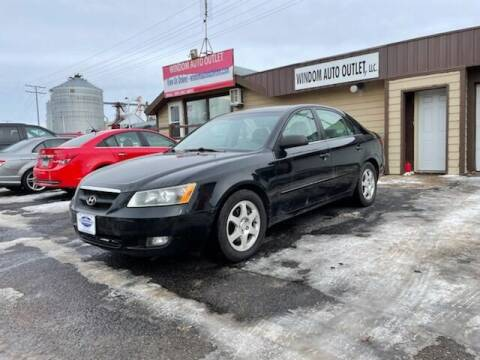 2006 Hyundai Sonata for sale at WINDOM AUTO OUTLET LLC in Windom MN