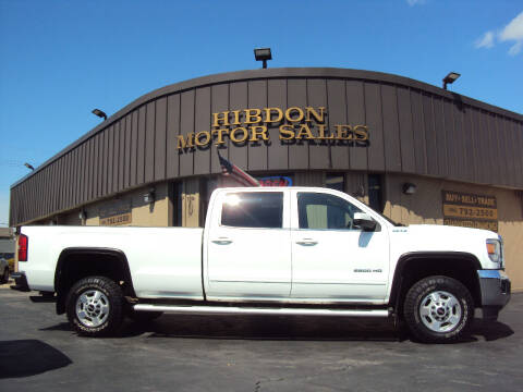 2015 GMC Sierra 2500HD for sale at Hibdon Motor Sales in Clinton Township MI