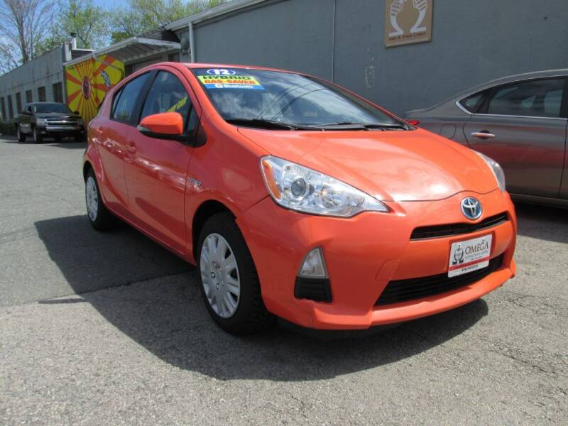 2012 Toyota Prius c for sale at Omega Auto & Truck Center, Inc. in Salem MA
