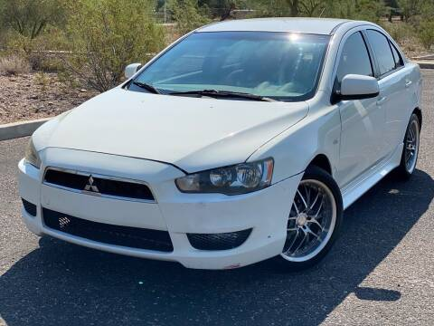 2011 Mitsubishi Lancer for sale at Baba's Motorsports, LLC in Phoenix AZ