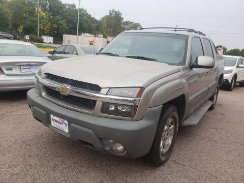 2002 Chevrolet Avalanche for sale at Gordon Auto Sales LLC in Sioux City IA