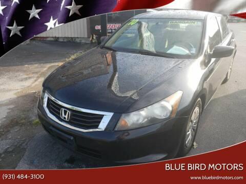 2010 Honda Accord for sale at Blue Bird Motors in Crossville TN