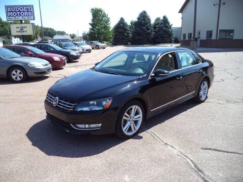 2012 Volkswagen Passat for sale at Budget Motors - Budget Acceptance in Sioux City IA