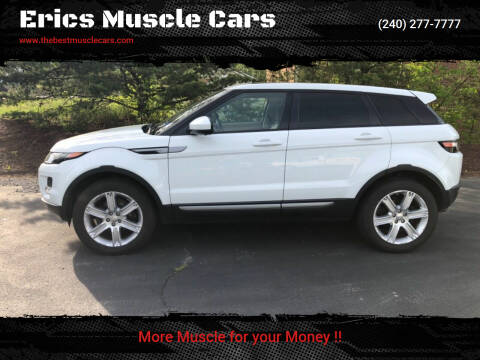 2015 Land Rover Range Rover Evoque for sale at Erics Muscle Cars in Clarksburg MD