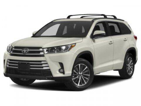 2019 Toyota Highlander for sale at SCOTT EVANS CHRYSLER DODGE in Carrollton GA