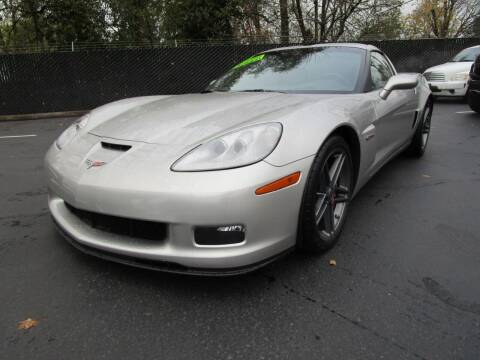 2007 Chevrolet Corvette for sale at LULAY'S CAR CONNECTION in Salem OR