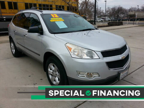2012 Chevrolet Traverse for sale at Super Cars Sales Inc #1 in Oakdale CA