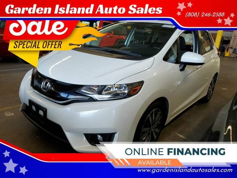 2016 Honda Fit for sale at Garden Island Auto Sales in Lihue HI