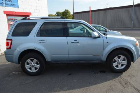 2008 Ford Escape Hybrid for sale at CARGILL U DRIVE USED CARS in Twin Falls ID