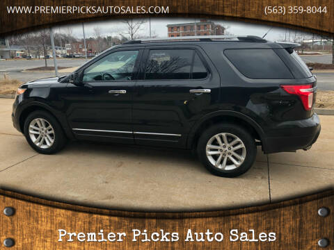 2013 Ford Explorer for sale at Premier Picks Auto Sales in Bettendorf IA