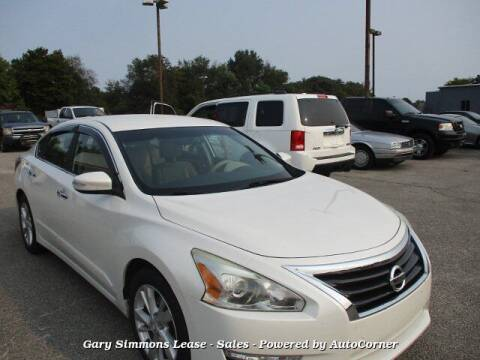 2014 Nissan Altima for sale at Gary Simmons Lease - Sales in Mckenzie TN
