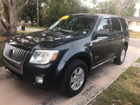 2008 Mercury Mariner for sale at Jack's Auto Sales in Port Richey FL