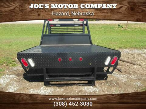 Temco Flatbed Flatbed for sale at Joe's Motor Company in Hazard NE