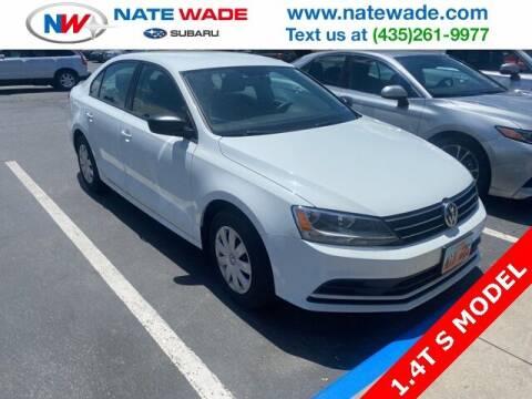 2016 Volkswagen Jetta for sale at NATE WADE SUBARU in Salt Lake City UT