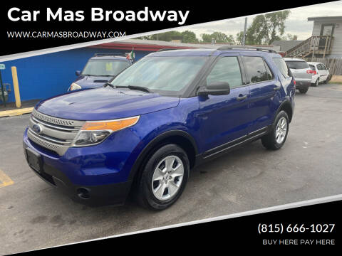 2014 Ford Explorer for sale at Car Mas Broadway in Crest Hill IL
