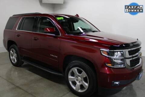 2017 Chevrolet Tahoe for sale at Bob Clapper Automotive, Inc in Janesville WI