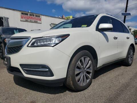 2014 Acura MDX for sale at MENNE AUTO SALES LLC in Hasbrouck Heights NJ