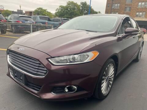 2013 Ford Fusion for sale at H C Motors in Royal Oak MI