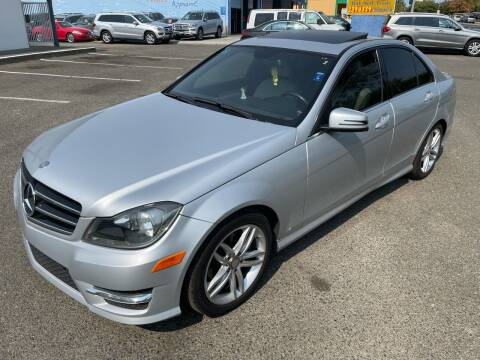2014 Mercedes-Benz C-Class for sale at All Cars & Trucks in North Highlands CA
