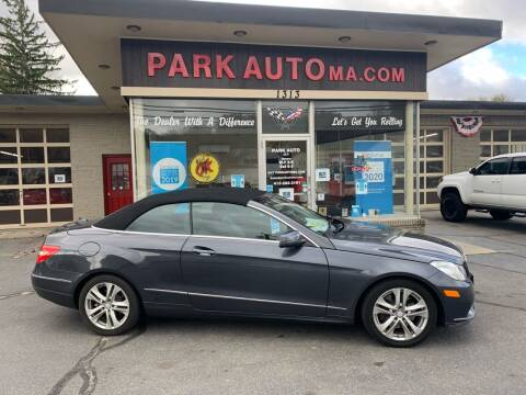 2011 Mercedes-Benz E-Class for sale at Park Auto LLC in Palmer MA