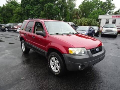 2006 Ford Escape for sale at DONNY MILLS AUTO SALES in Largo FL