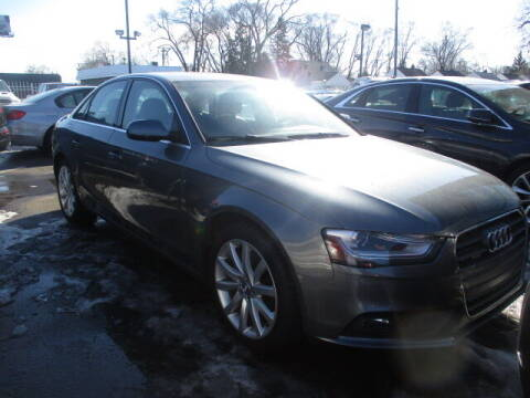 2013 Audi A4 for sale at SOUTHFIELD QUALITY CARS in Detroit MI