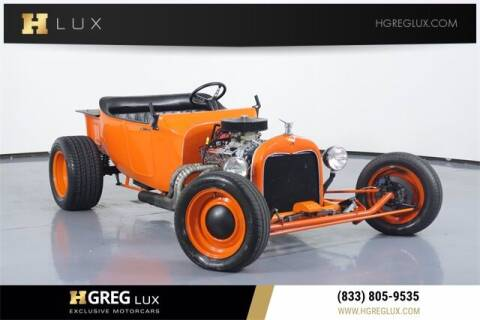 1923 Ford Model T for sale at HGREG LUX EXCLUSIVE MOTORCARS in Pompano Beach FL
