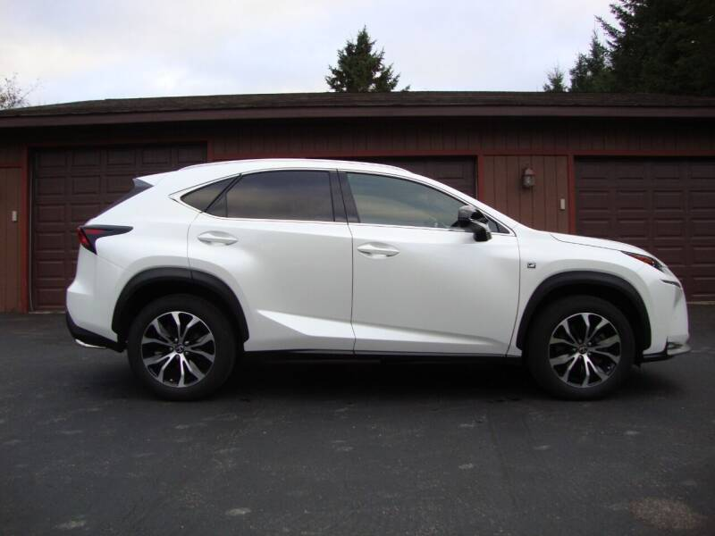 2015 Lexus NX 200t for sale at G and G AUTO SALES in Merrill WI