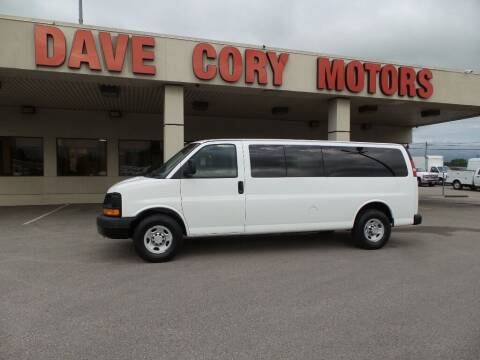 2010 Chevrolet Express Passenger for sale at DAVE CORY MOTORS in Houston TX
