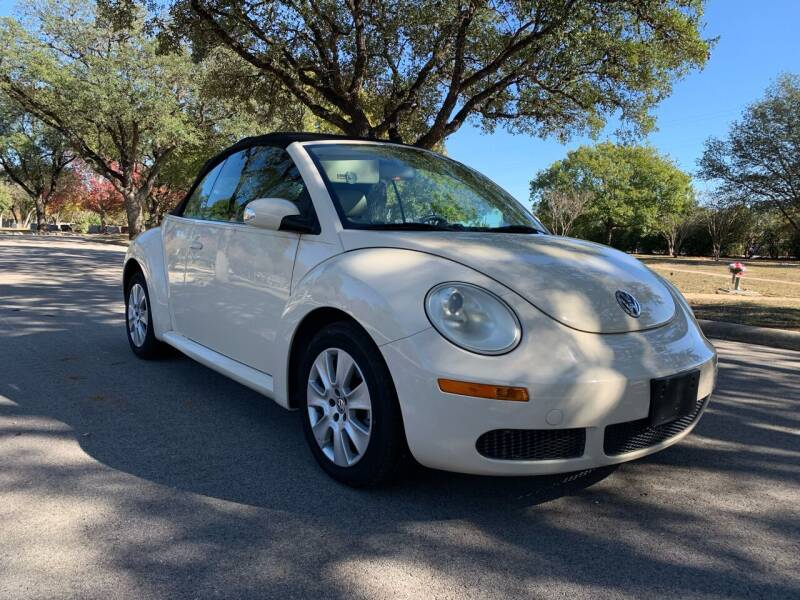 2008 Volkswagen New Beetle Convertible for sale at 210 Auto Center in San Antonio TX