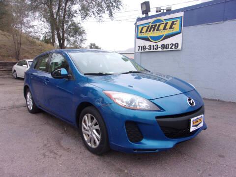 2012 Mazda MAZDA3 for sale at Circle Auto Center in Colorado Springs CO