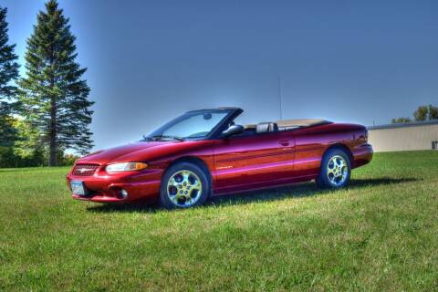 1999 Chrysler Sebring for sale at Hooked On Classics in Watertown MN