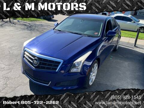 2013 Cadillac ATS for sale at L & M MOTORS in Santa Maria CA