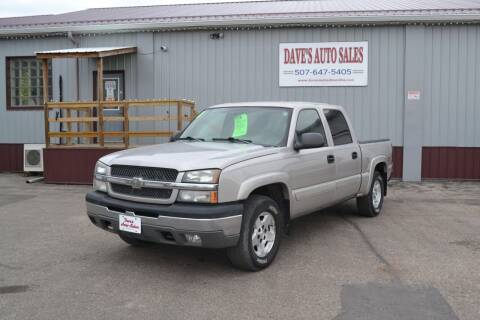 2004 Chevrolet Silverado 1500 for sale at Dave's Auto Sales in Winthrop MN