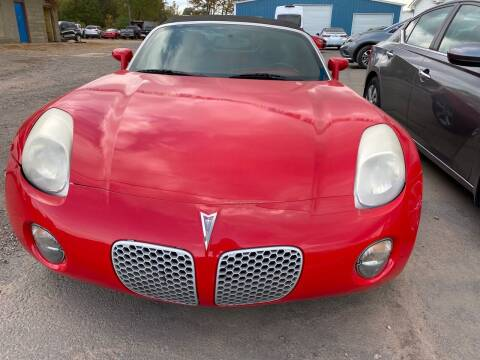 2007 Pontiac Solstice for sale at BEST AUTO SALES in Russellville AR