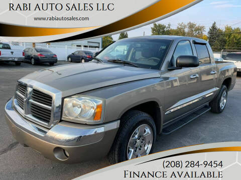 2006 Dodge Dakota for sale at RABI AUTO SALES LLC in Garden City ID